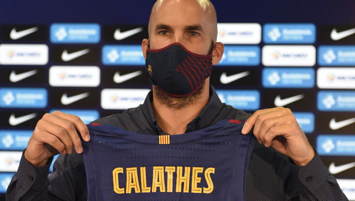 Primeras declaraciones de Calathes como jugador del FC Barcelona