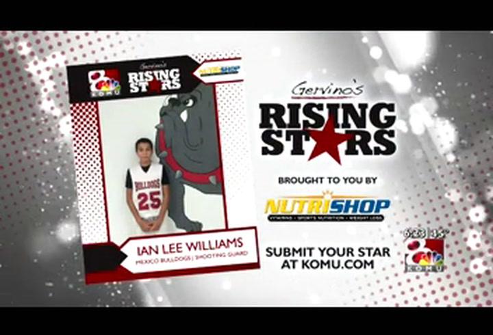 Gervino's Rising Star - Ian Williams