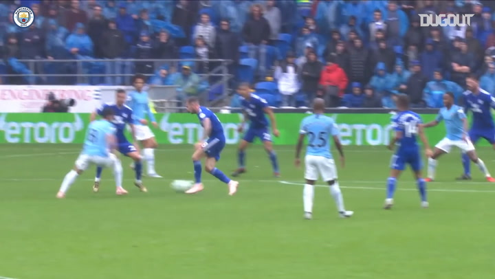 El golazo de Ilkay Gündogan ante el Cardiff City