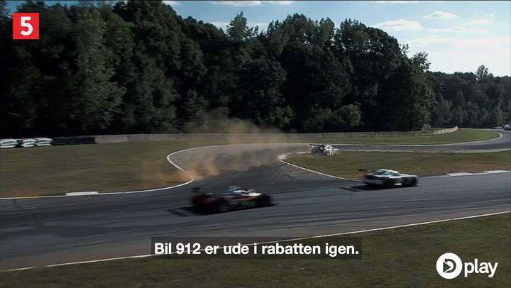 Berørt Jan Magnussen efter Ferrari-brand: Tænker på Kevin og hans ulykke