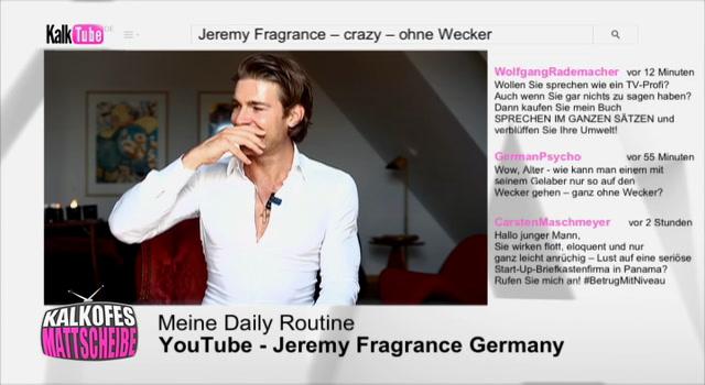 Kalkofes Mattscheibe Clip: Jeremy Fragrance