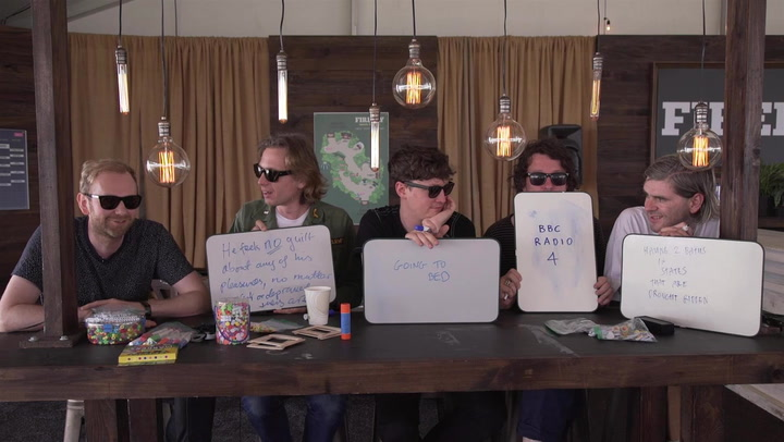 Franz Ferdinand Quizes Each Other on Bad Habits and Guilty Pleasures