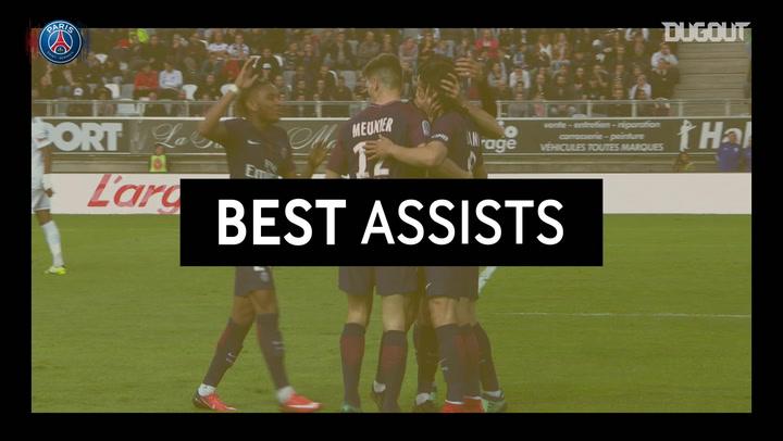 Best Assists: Pastore Vs Amiens 2018