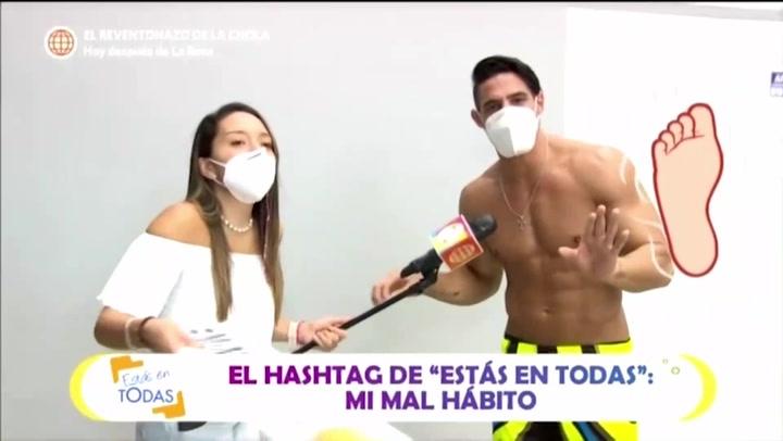 Facundo Gonzáles confiesa que descuidó sus pies y le salieron hongos