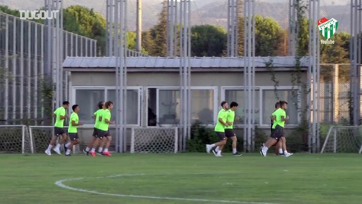 Bursaspor, Yeni Sezon Hazırlıklarına Başladı