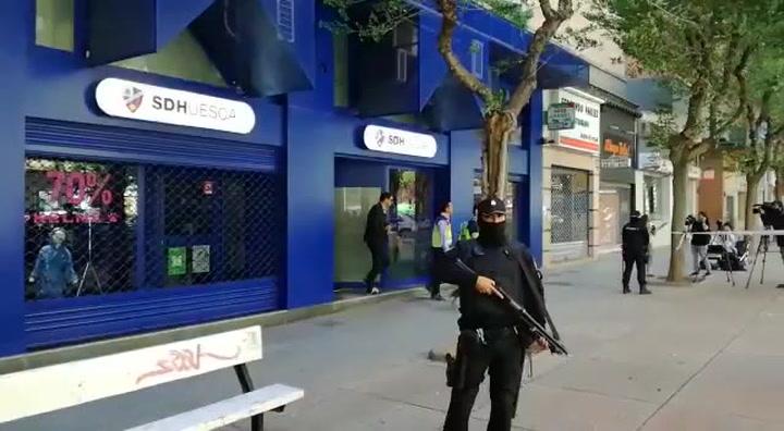 Registros en la sede del Huesca por presunto amaño de partidos
