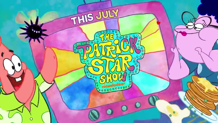 SpongeBob's best friend, Patrick Star, gets his own show