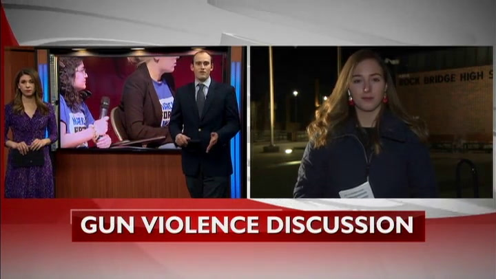 Rock Bridge students host gun violence discussion