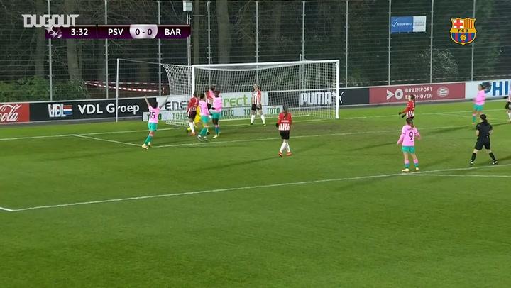 Highlights: PSV Vrouwen 1–4 FC Barcelona Women