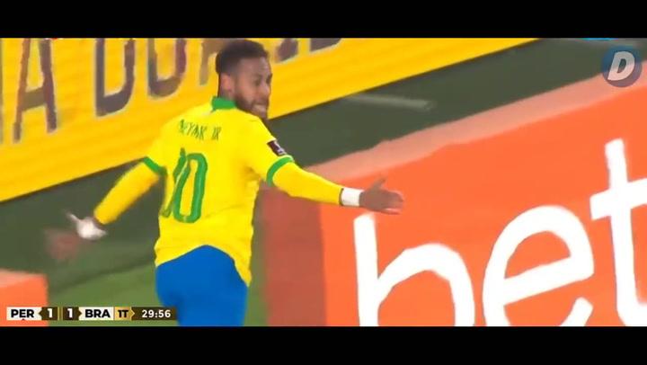 El resumen del Perú - Brasil (2-4)