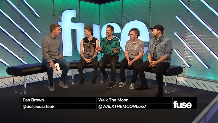 Shows: Trending 10: Walk The Moon Interview (11/6/14)