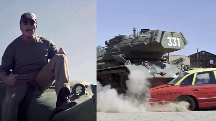 Vil du knuse ting med tanksen til Arnold?