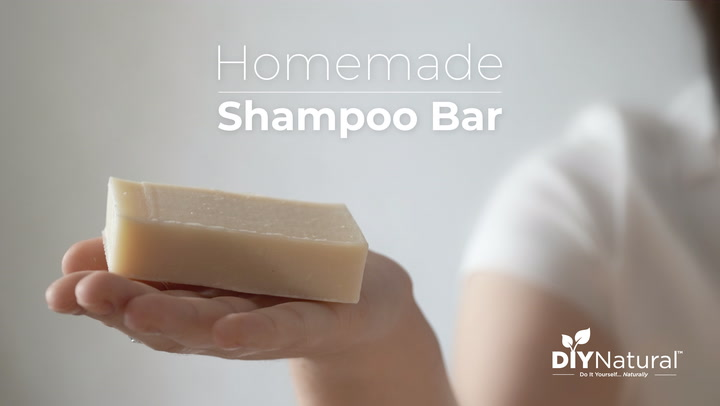 Homemade DIY Shampoo Bar | DIY Natural