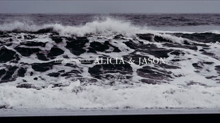 Alicia + Jason | Iceland, Iceland | a cliff