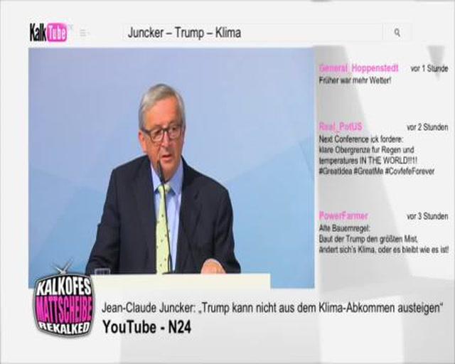 Trumps Klimaaustieg - Jean-Claude Juncker CSV/PCS