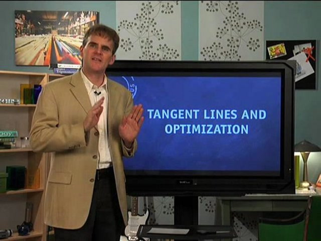 Tangent Lines and Optimization