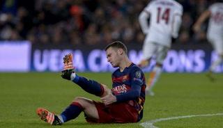 ¡Otra vez! Vermaelen estará seis semanas de baja en Barcelona por lesión