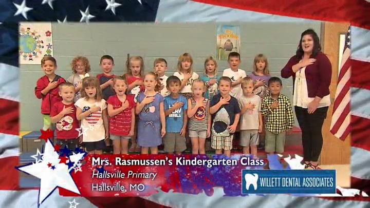 Hallsville Primary - Mrs. Rasmussen - Kindergarten