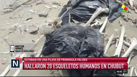 Identificaron los restos óseos que fueron hallados en Chubut