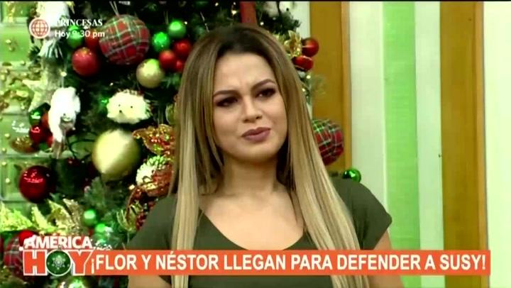"""Florcita Polo tras infidelidad de Walter Obregón a Susy Díaz: """"Me caía bien y hablé con él para decirle que no hiciera sufrir a mi mamá"""""""