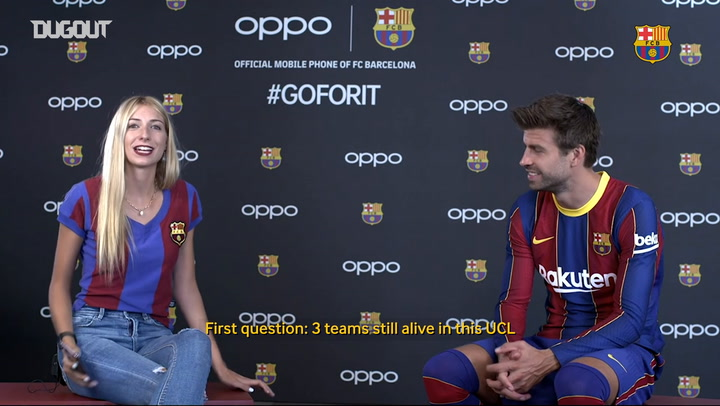7 Second Challenge with Gerard Piqué