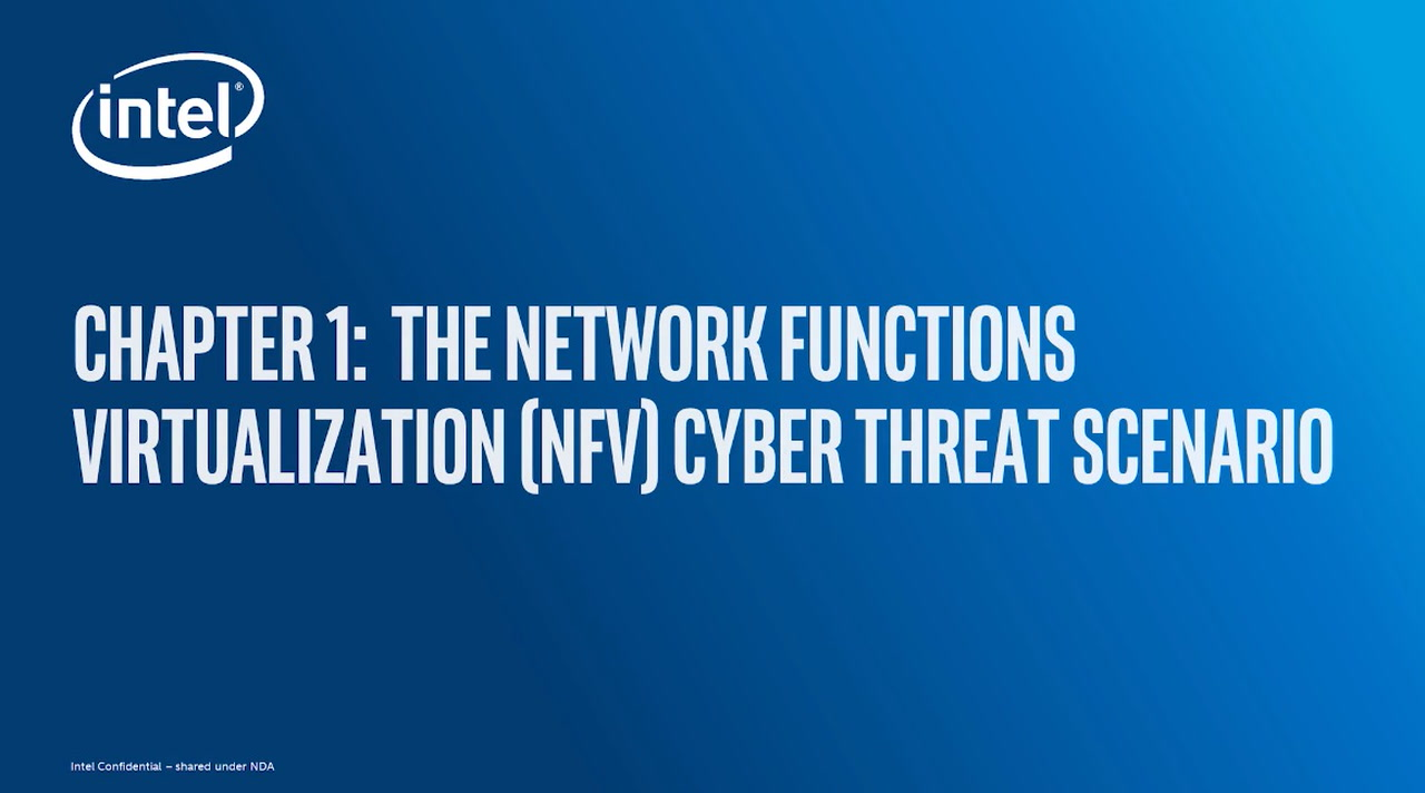 Chapter 1: The Network Functions Virtualization (NFV) Cyber Threat Scenario