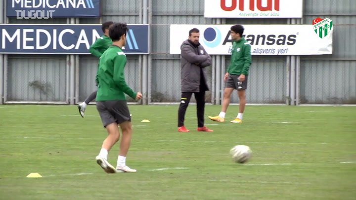 Bursaspor'da Adanaspor Maçının Hazırlıkları Devam Ediyor