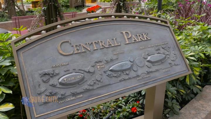 Harmony Of The Seas Central Park On Royal Caribbean International