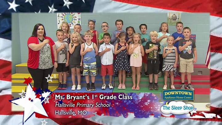 Hallsville Primary - Ms. Bryant -1st Grade
