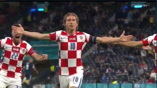 Croacia supera 3-1 a Escocia y pasa a octavos de final de la Eurocopa
