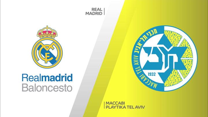 Resumen del Real Madrid - Maccabi de Euroliga