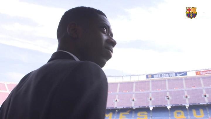 Ousmane Dembélé's three years with FC Barcelona