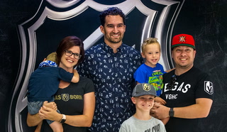 Mark Stone and Stanley Cup visit MGM Grand