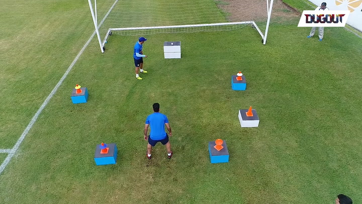 Some Serious Training for Our Keepers