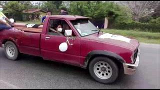 Con caravana despiden los restos del atleta hondureño Geovanni García