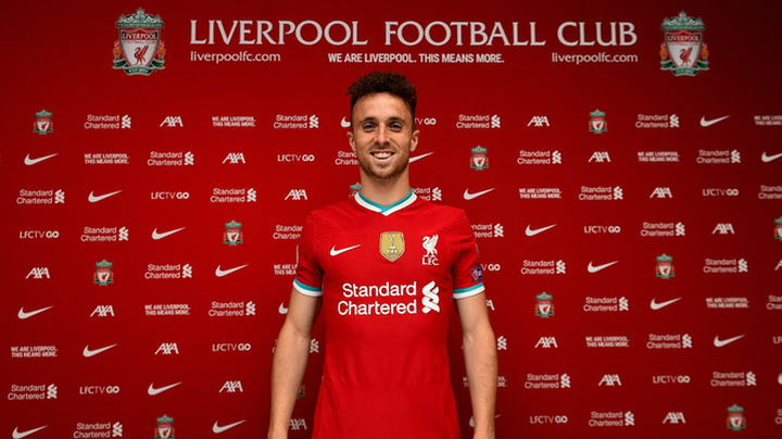 El Liverpool oficializa el fichaje de Diogo Jota