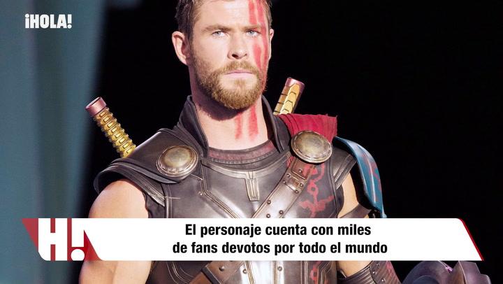 Así se asegura Chris Hemsworth de que sus hijos sean fans de \'Thor\'