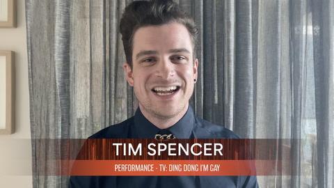 Tim Spencer, winner of PERFORMANCE in a DIGITAL SERIES