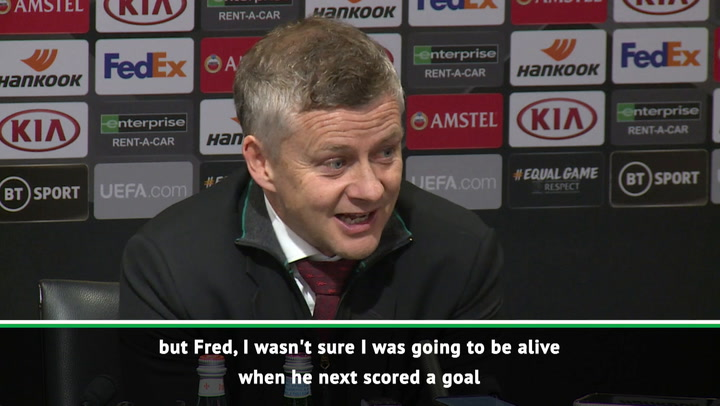 I didn't think I'd be alive to see Fred score another goal! - Solskjaer