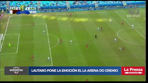 Video: Lautaro Martínez anota el 1-0 de Argentina ante Catar en la Copa América