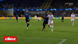 Manchester City le gana al Brujas en Bélgica con gol de Cancelo