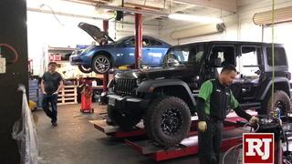 Auto repair shortage affects Las Vegas