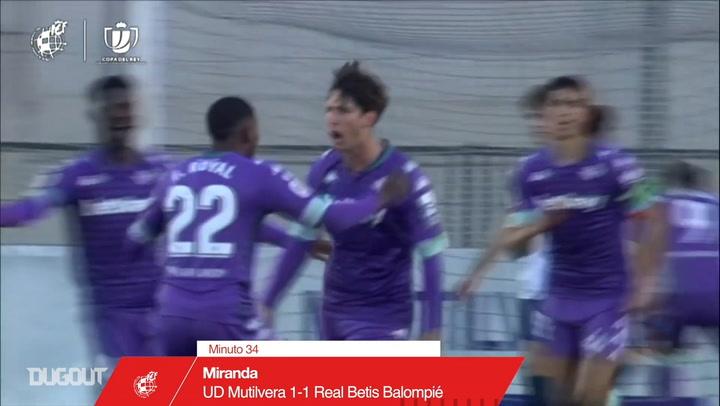 Miranda's free-kick goal and Emerson's strike vs UD Mutilvera