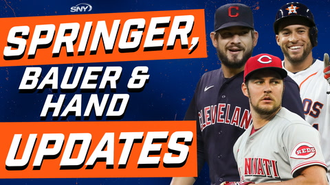Jim Duquette drops the latest news on George Springer, Trevor Bauer, and Brad Hand