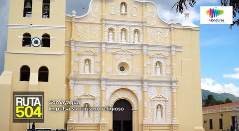 Ruta 504 -Comayagua impulsa su turismo religioso