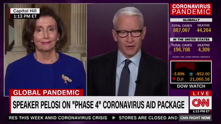 Pelosi: McConnell's Impeachment Excuse an Admission Trump 'Cannot Handle the Job'