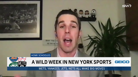 Recapping the wild week for the Mets, Yankees, Jets and Nets