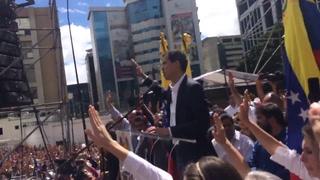Así se proclamó Juan Guaidó como nuevo presidente de Venezuela