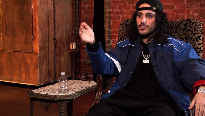 Russ details how rising hit LOSIN CONTROL just Popped Out of Him