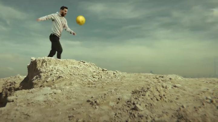 Messi. embajador oficial de la Expo 2020 de Dubai